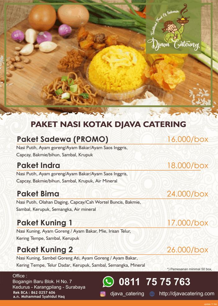 Paket Catering Khitanan Murah Dan Terpercaya Bogor